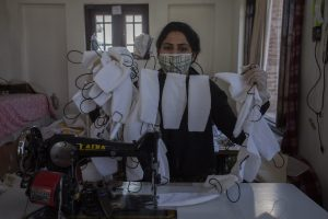 Kashmiris Make Own Masks To Battle Shortage Of Protective Gear
