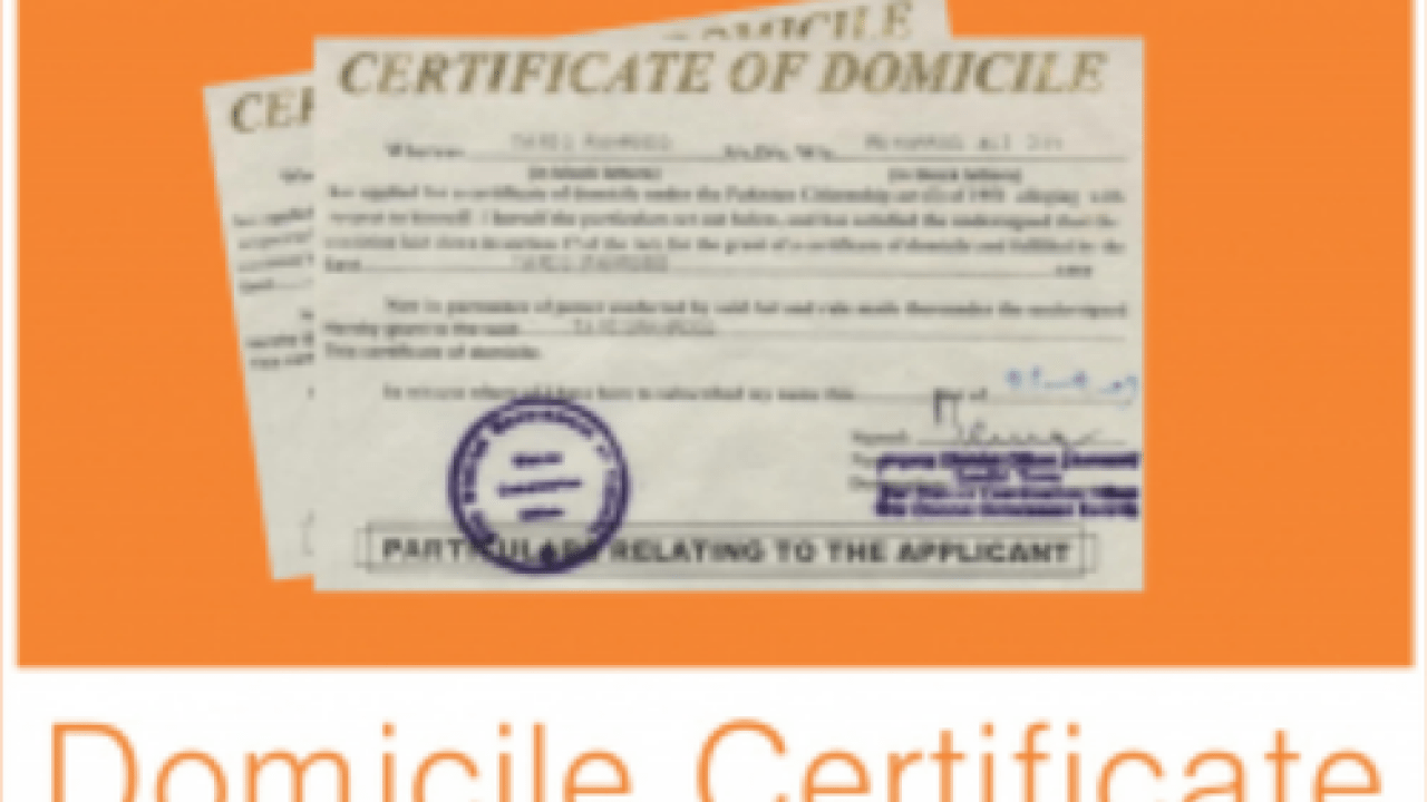 Govt Orders Domicile Certificates To PRC Holders In 10 Days