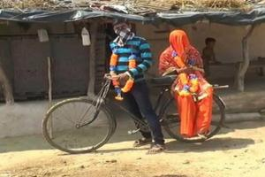 UP Man Cycles 100 Km Alone To Marry, Rides Double With Bride On Way Back