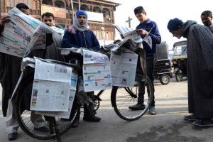 Churnalism in Kashmir