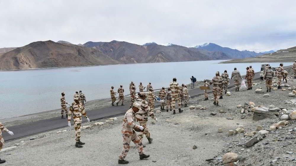 India Strengthens Military Presence In Pangong Lake Area' | Kashmir Observer