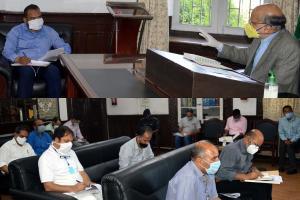 CS Reviews Flood Preparedness in Srinagar City