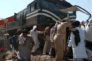 20 Sikh Pilgrims Killed As Train Rams Into Bus In Pakistan's Sheikhupura