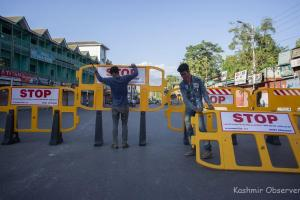 Strict Implementation Of Lockdown In Kashmir As Covid-19 Cases Surge