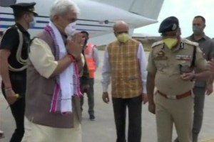 JK LG Designate Manoj Sinha Arrives in Sgr, Likely to Take Oath Tomorrow