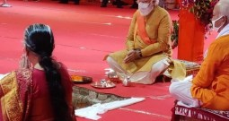 PM Modi Performs Bhoomi Pujan' For Ram Temple In Ayodhya