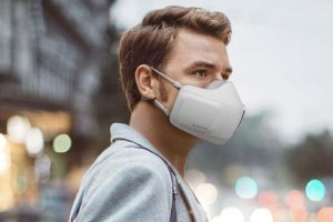 Battery-Powered Face Mask Seeks To Fight COVID And Foggy Glasses