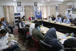 National Webinar On NEP-2020 Begins In CUK