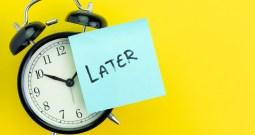 Panacea of Procrastination