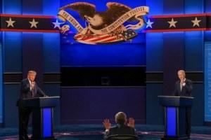 Chaos Reigns In First Trump-Biden Debate