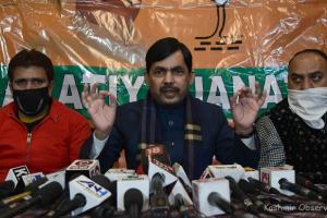 Article 370 Not There Now, It Will Never Be: Shahnawaz Hussain