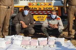 Duo Arrested With 27 Kgs Of Cannabis In Udhampur: Police
