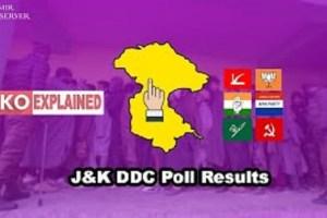KO Explained: J&K DDC Poll Results