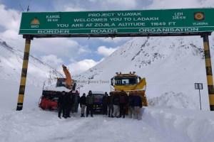Leh Highway Closed For Winter