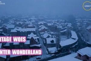 Vintage Woes Of Winter Wonderland
