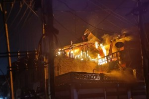 Nocturnal Fire at Sekidafar Damages Several Houses