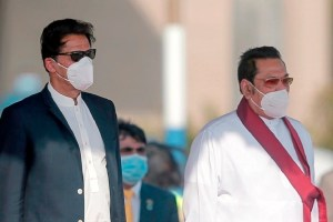 Pakistan Prime Minister Khan Arrives In Sri Lanka To Boost Ties