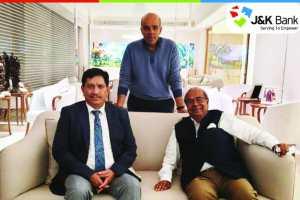 J&K Bank CMD Meets Chairman Hinduja Group