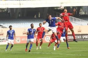 Mason Robertson's Brace Takes Real Kashmir To Top Of I-League Table