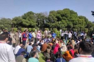 DDC Members Boycott Training Prog; Stage Protest For Better Status