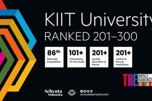KIIT Ranked 201+GloballyinTimes Higher Education Impact Rankings