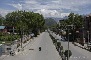 Govt Extends Corona Curfew In J&K Till May 24