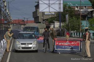 Covid-Restrictions Continue In J&K