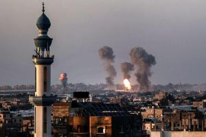 Israel Stages New Round Of Heavy Airstrikes On Gaza City