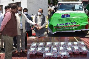 J&K Govt Launches Airlifting Service For Perishable Fruits, Vegetables