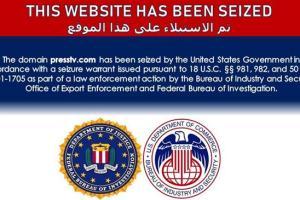 US Seizes Websites of Press TV, 32 Other Iran Allied Media Outlets