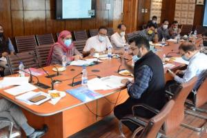 Dulloo Asks Officers To Utilise ECRP For Revamping Health Infrastructure