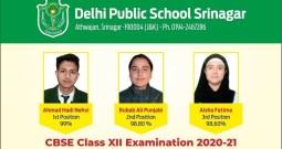 DPS Srinagar Records 100% Results In Class XII Exam