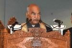 Violence Is Alien To Kashmiri Culture: President Kovind