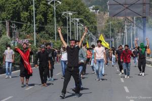 Chaos in Srinagar after Muharram Procession Disallowed