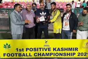 1st Positive Kashmir Football League: Avengers Beat ARCO