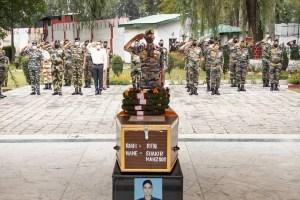Rifleman Shakir Laid To Rest