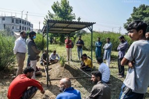 Quiet Burial for Syed Ali Geelani at Hyderpora