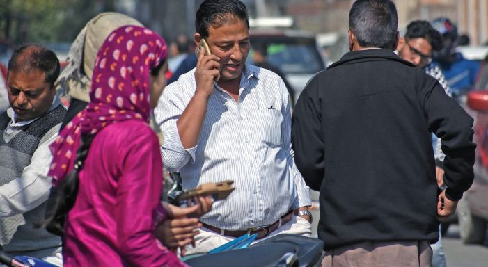 Mobile services partially restored in Kashmir after 71 days