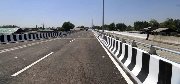 3 flyovers coming up in Srinagar