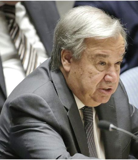 UN chief for Kashmir situation to be resolved through dialogue