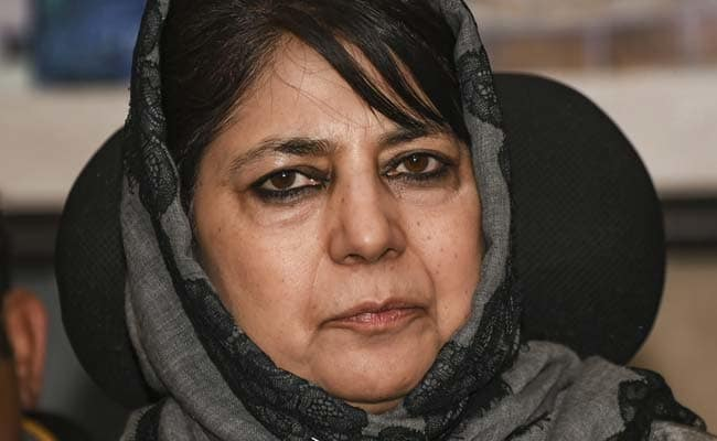 Detained again at home by authorities: Mehbooba