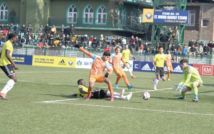 Real Kashmir, United SC storm into semis