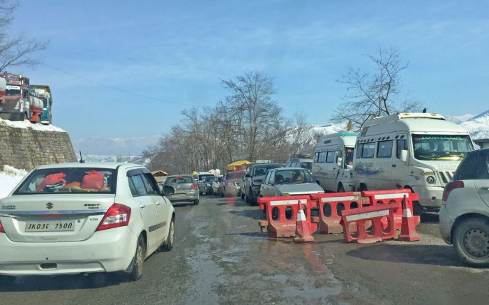 Srinagar-Jammu highway cleared for traffic