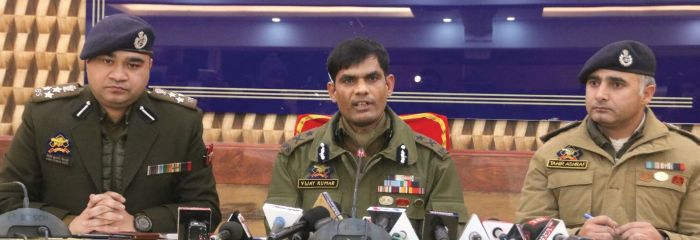 Top police official arrested along with militants: IGP