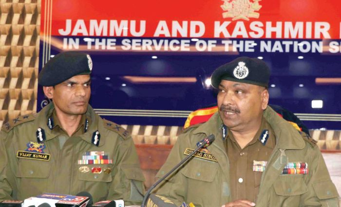 All 3 militants killed in Srinagar gunfight locals from south Kashmir: DGP Dilbagh Singh