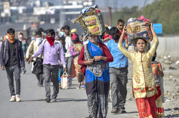 Over 1 crore migrant workers returned to home states on foot during lockdown: Govt