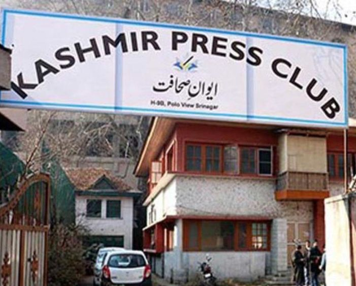 Kashmir Press Club condemns
