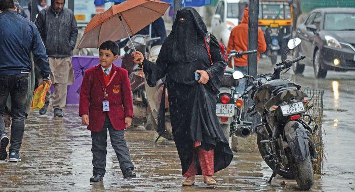 Rains trigger landslides on Srinagar-Jammu