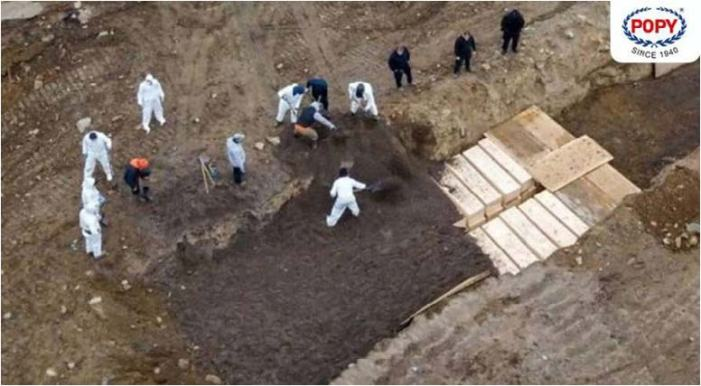New York using mass graves amid outbreak: Report