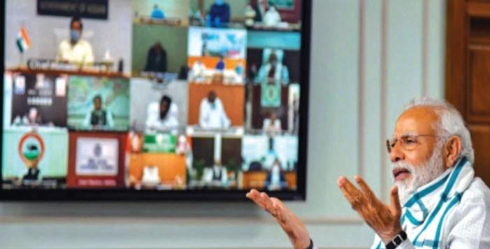 Convert coronavirus challenge into opportunity: PM Modi tells CMs